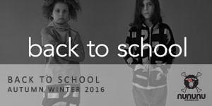 NUNUNU AW 2016 - Back to School